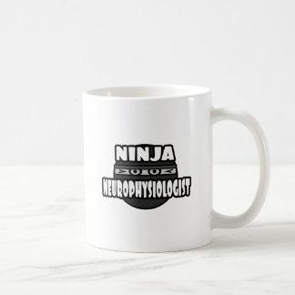 Ninja Neurophysiologist Classic White Coffee Mug