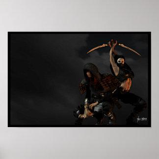 Ninja Night Poster
