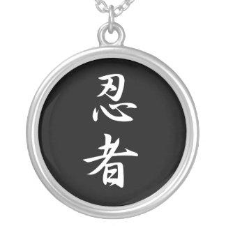 Ninja - Ninja Round Pendant Necklace