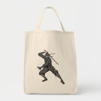 Ninja ~ Ninjas 2 Martial Arts Warrior Fantasy Art Tote Bags