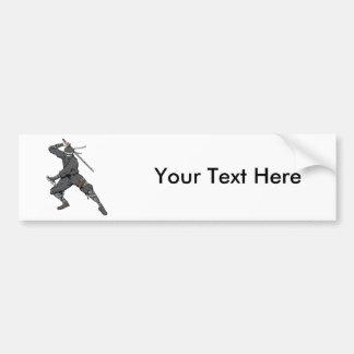 Ninja ~ Ninjas 2 Martial Arts Warrior Fantasy Art Bumper Sticker