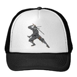 Ninja ~ Ninjas 2 Martial Arts Warrior Fantasy Art Mesh Hat
