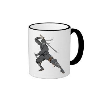 Ninja ~ Ninjas 2 Martial Arts Warrior Fantasy Art Coffee Mug