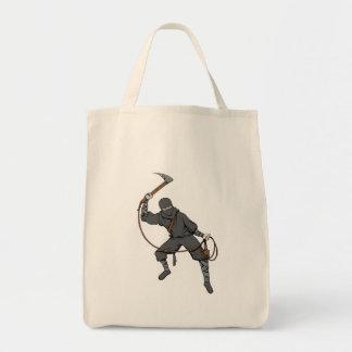 Ninja ~ Ninjas 3 Martial Arts Warrior Fantasy Art Tote Bags