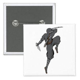 Ninja ~ Ninjas 4 Martial Arts Warrior Fantasy Art Pinback Buttons