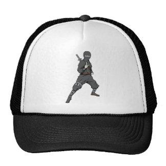 Ninja ~ Ninjas 5 Martial Arts Warrior Fantasy Art Trucker Hat