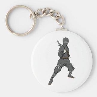 Ninja ~ Ninjas 5 Martial Arts Warrior Fantasy Art Keychains