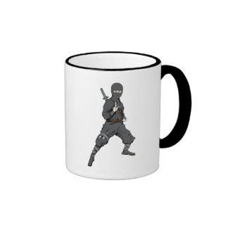 Ninja ~ Ninjas 5 Martial Arts Warrior Fantasy Art Mug