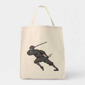 Ninja ~ Ninjas 7 Martial Arts Warrior Fantasy Art Tote Bag