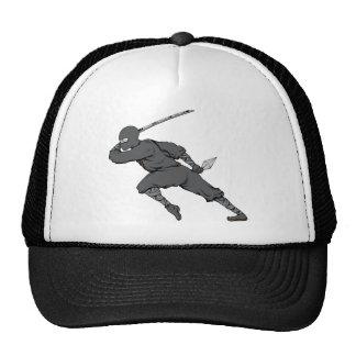 Ninja ~ Ninjas 7 Martial Arts Warrior Fantasy Art Trucker Hats
