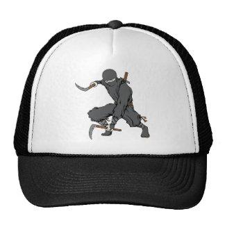 Ninja ~ Ninjas Martial Arts Warrior Fantasy Art Mesh Hats