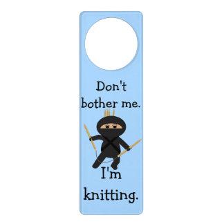 Ninja no me molesta que estoy haciendo punto Doorh Colgadores Para Puertas