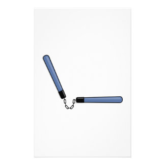 Ninja Nunchucks Stationery