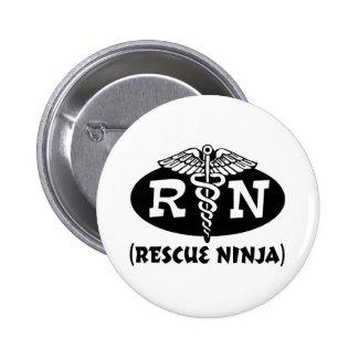 Ninja Nurse Pins