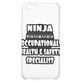 Ninja Occupational Health and Safety Specialist iPhone 5C Cases