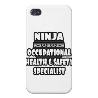 Ninja Occupational Health and Safety Specialist iPhone 4/4S Cover