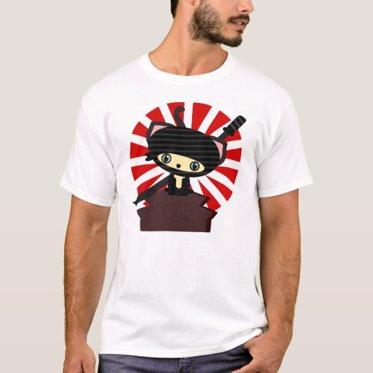 ninja on roof kawaii T-Shirt