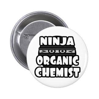 Ninja Organic Chemist Pin