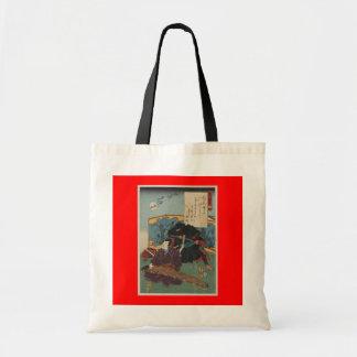 Ninja Painting circa 1853 Japan Tote Bag