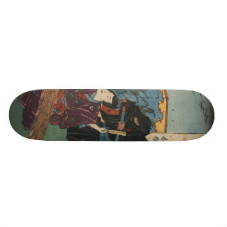 Ninja Painting circa 1853 Skateboard
