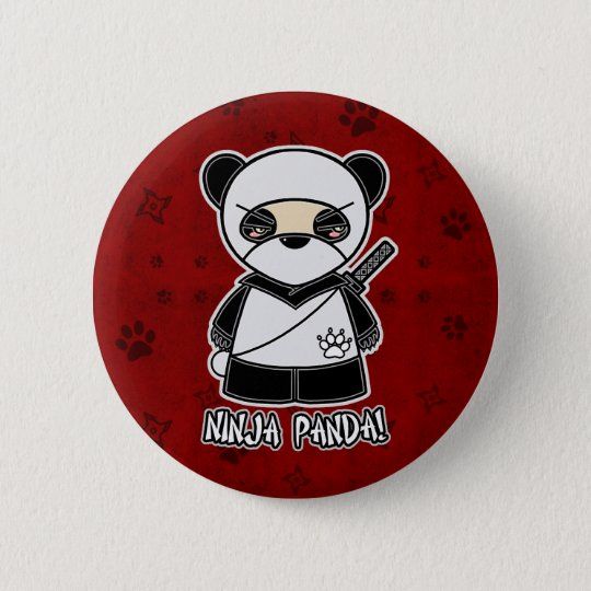 Ninja Panda! In Red Button