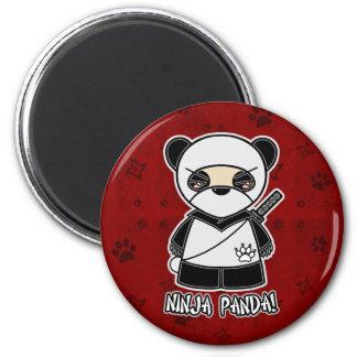 Ninja Panda! In Red Magnet