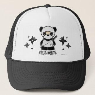 Ninja Panda! With Shurikens Hat