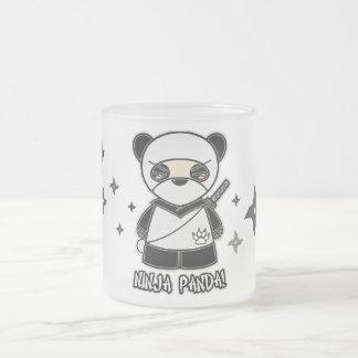 Ninja Panda With Shurikens Mug