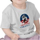 ninja para la camisa ligera de obama