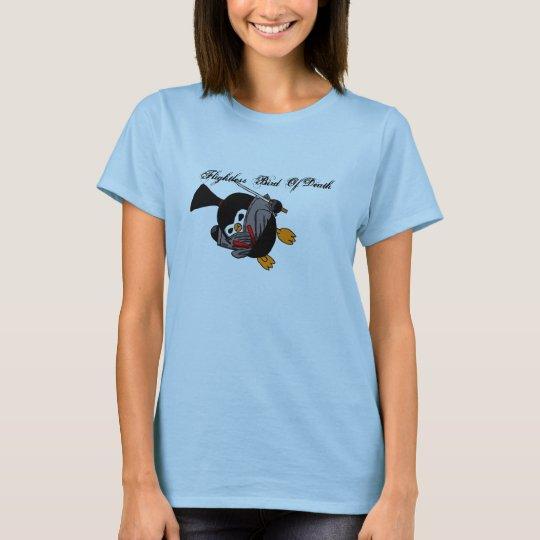 Ninja Penguin Dragon Kick T-Shirt
