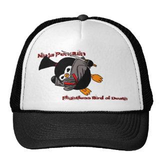 Ninja Penguin, Flightless Bird of Death Mesh Hats