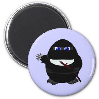 Ninja Penguin Fridge Magnets