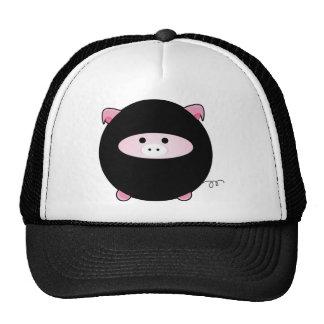 Ninja Pig Trucker Hat
