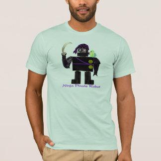 Ninja Pirate Robot T-Shirt