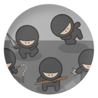 Ninja Plate - Retro Kitchen!