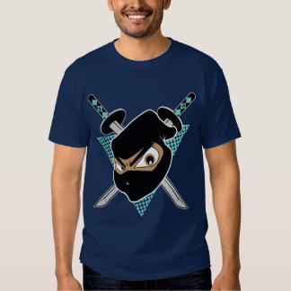 Ninja poderoso Seablue Camisas