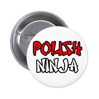 Ninja polaco pin