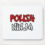 Ninja polaco tapete de ratones