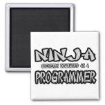 Ninja...Programmer Magnet