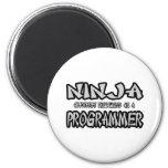 Ninja...Programmer Magnets