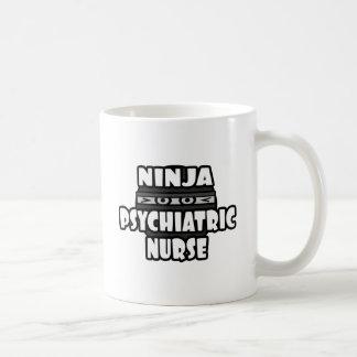Ninja Psychiatric Nurse Mug