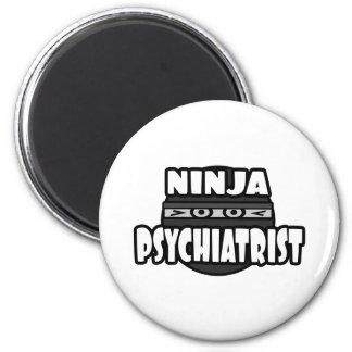 Ninja Psychiatrist Fridge Magnets