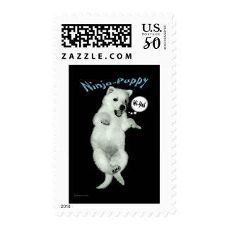 Ninja Puppy Postage