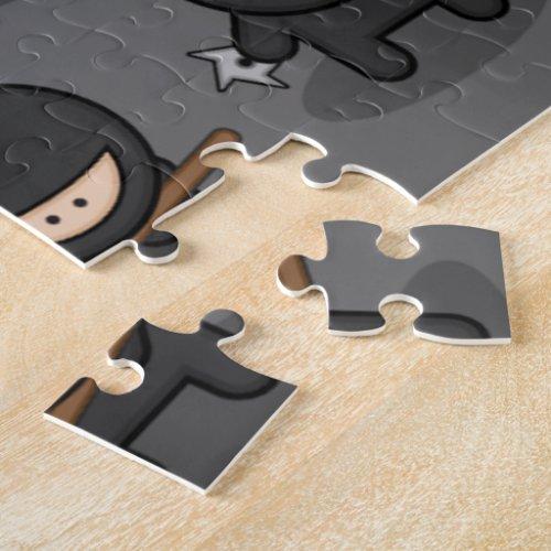 Ninja Puzzle _ Great Sports Gift
