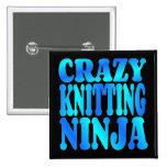 Ninja que hace punto loco pins