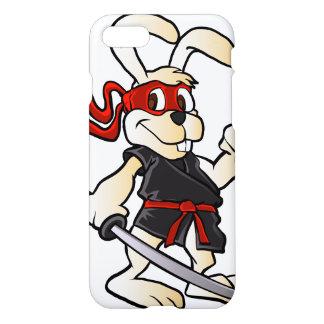 ninja rabbit cartoon iPhone 7 case