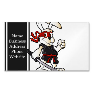 Funny easter bunny business cards templates zazzle for Cartoon business cards