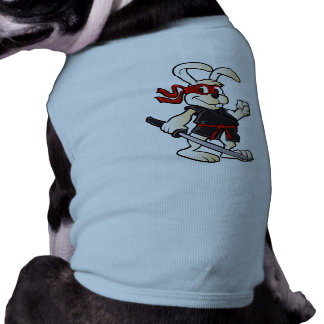 ninja rabbit cartoon T-Shirt