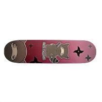 Ninja Raccoon! Skateboard