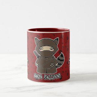 Ninja Raccoon! With Rice Bowl Mug
